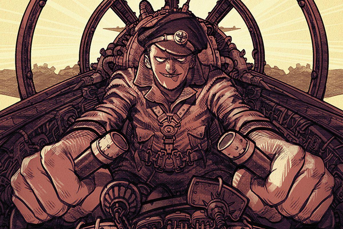 "Promotional artwork for ""Luftrausers""     (Vlambeer/luftrausers.com)"