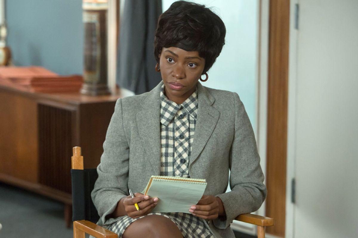 "Teyonah Parris as Dawn Chambers on ""Mad Men""                   (AMC/Jordin Althaus)"