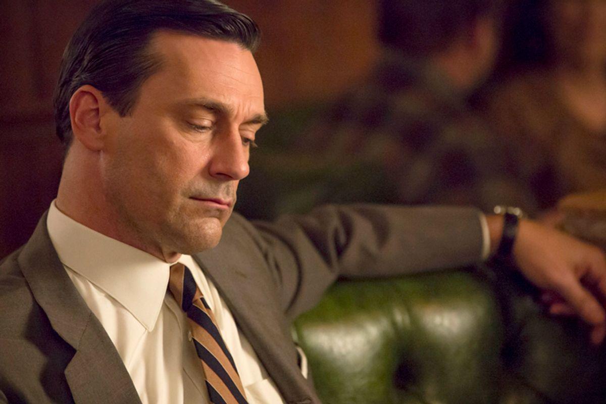 """Jon Hamm as Don Draper in """"Mad Men""""                      (AMC/Michael Yarish)"""