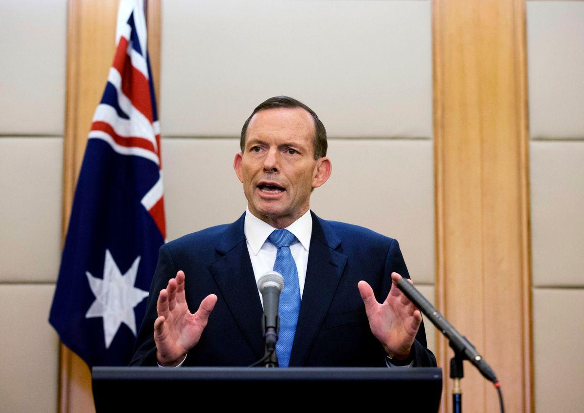 Australian Prime Minister Tony Abbott    (AP/Andy Wong)