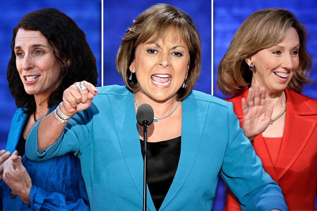 Martha McSally, Susana Martinez, Barbara Comstock       (AP/Ross D. Franklin/J. Scott Applewhite/Salon)