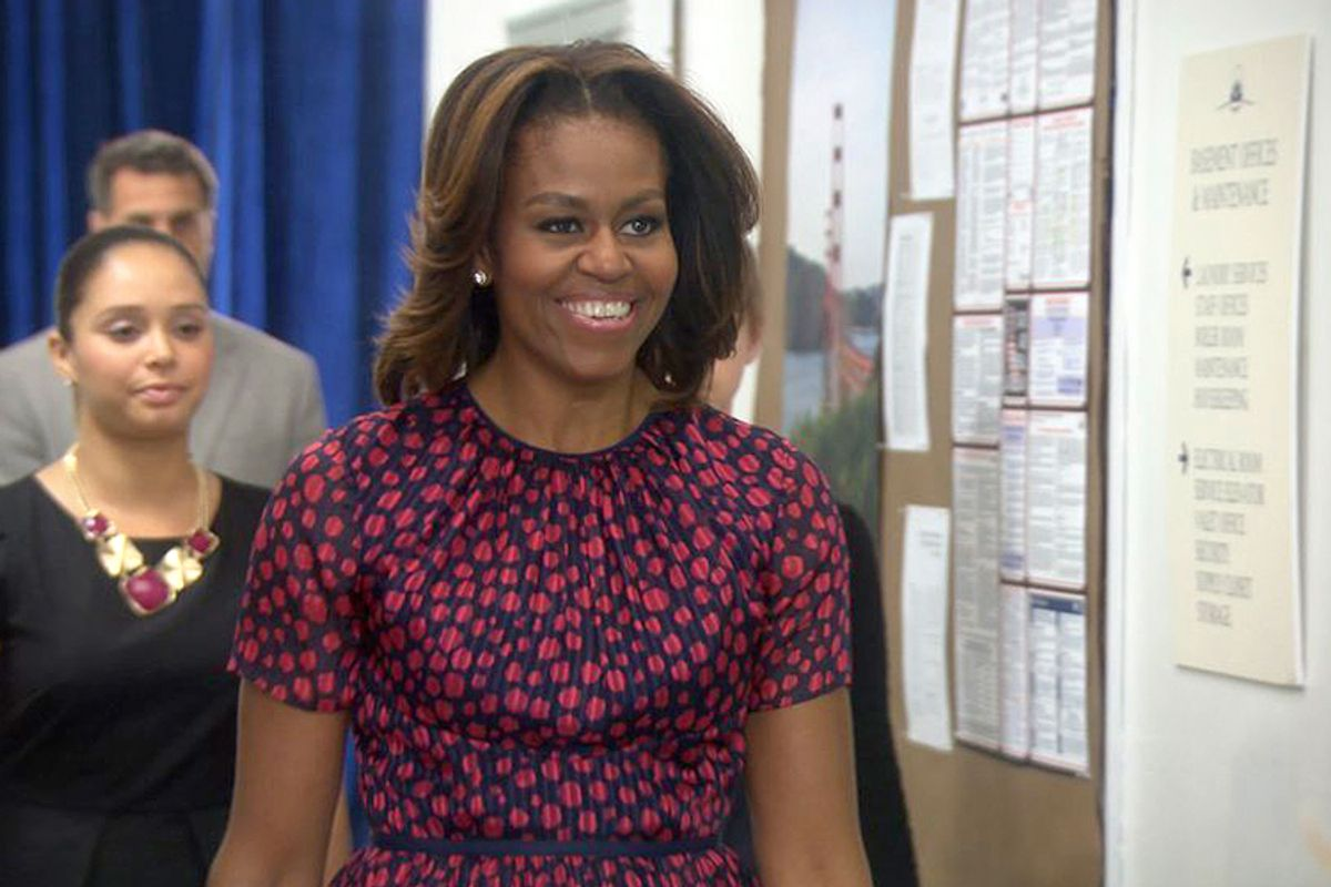 """Michelle Obama on """"Parks and Recreation""""                 (NBC)"""