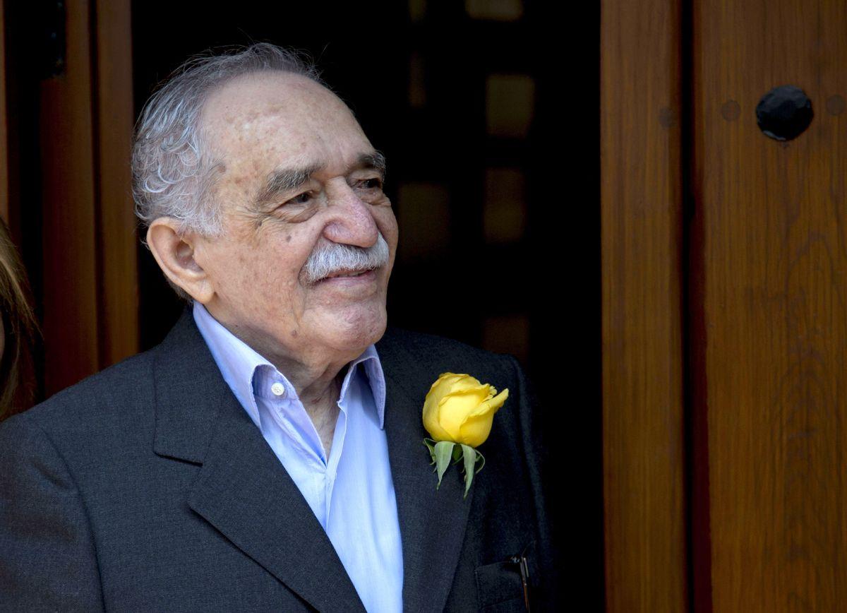 Colombian Nobel Literature laureate Gabriel Garcia Marquez  (AP/Eduardo Verdugo)