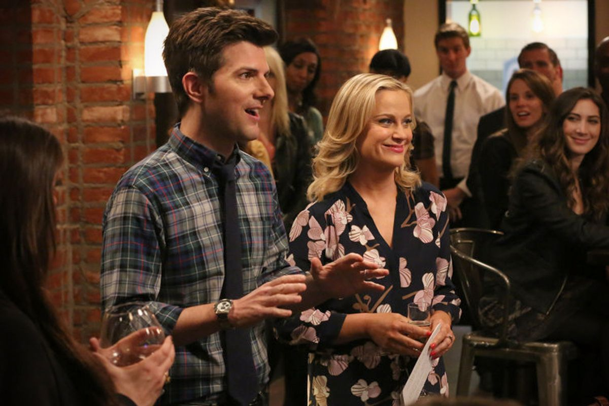 """Adam Scott and Amy Poehler in """"Parks and Recreation""""     (NBC/Byron Cohen)"""