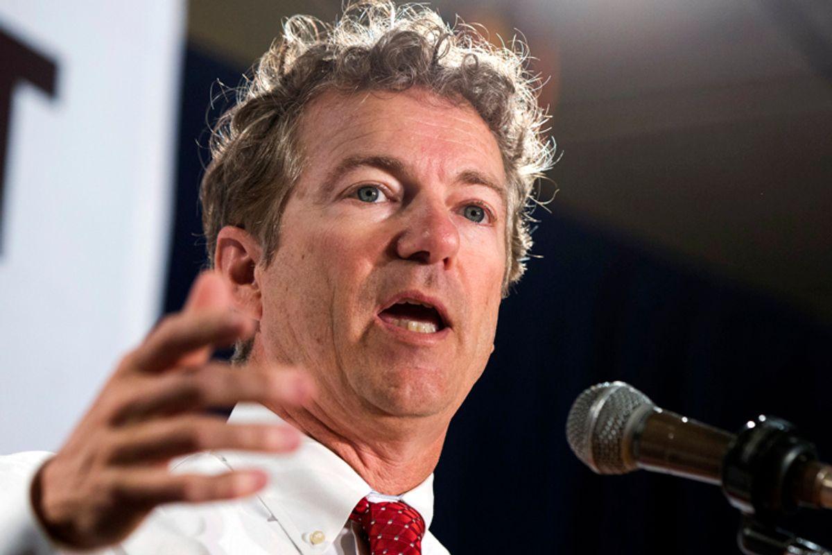 Rand Paul                     (Reuters/Lucas Jackson)
