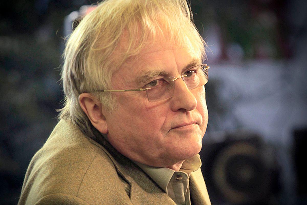 Richard Dawkins                 (AP/Manish Swarup)
