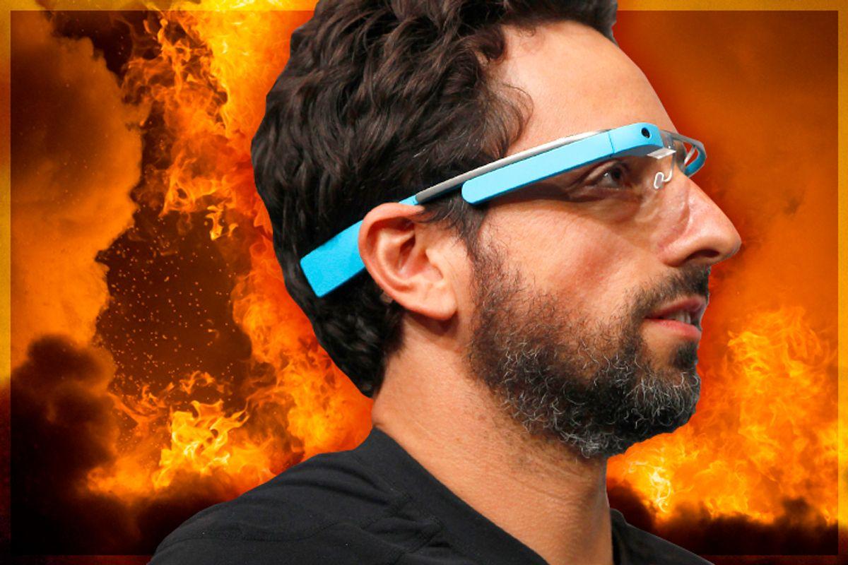 Sergey Brin      (Reuters/Stephen Lam/<a href='http://www.shutterstock.com/gallery-460606p1.html'>Ilya Andriyanov</a> via <a href='http://www.shutterstock.com/'>Shutterstock</a>/Salon)