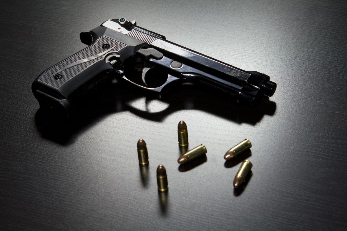 (<a href='http://www.shutterstock.com/gallery-401095p1.html?searchterm=gun'>  burlingham </a> via <a href='http://www.shutterstock.com/'>Shutterstock</a>)