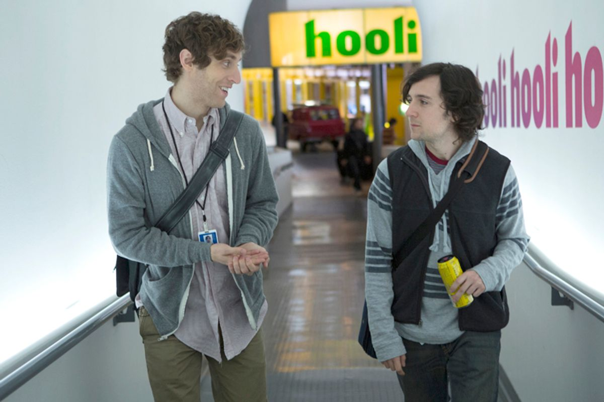 """Thomas Middleditch and Josh Brener in """"Silicon Valley""""       (HBO/Jaimie Trueblood)"""