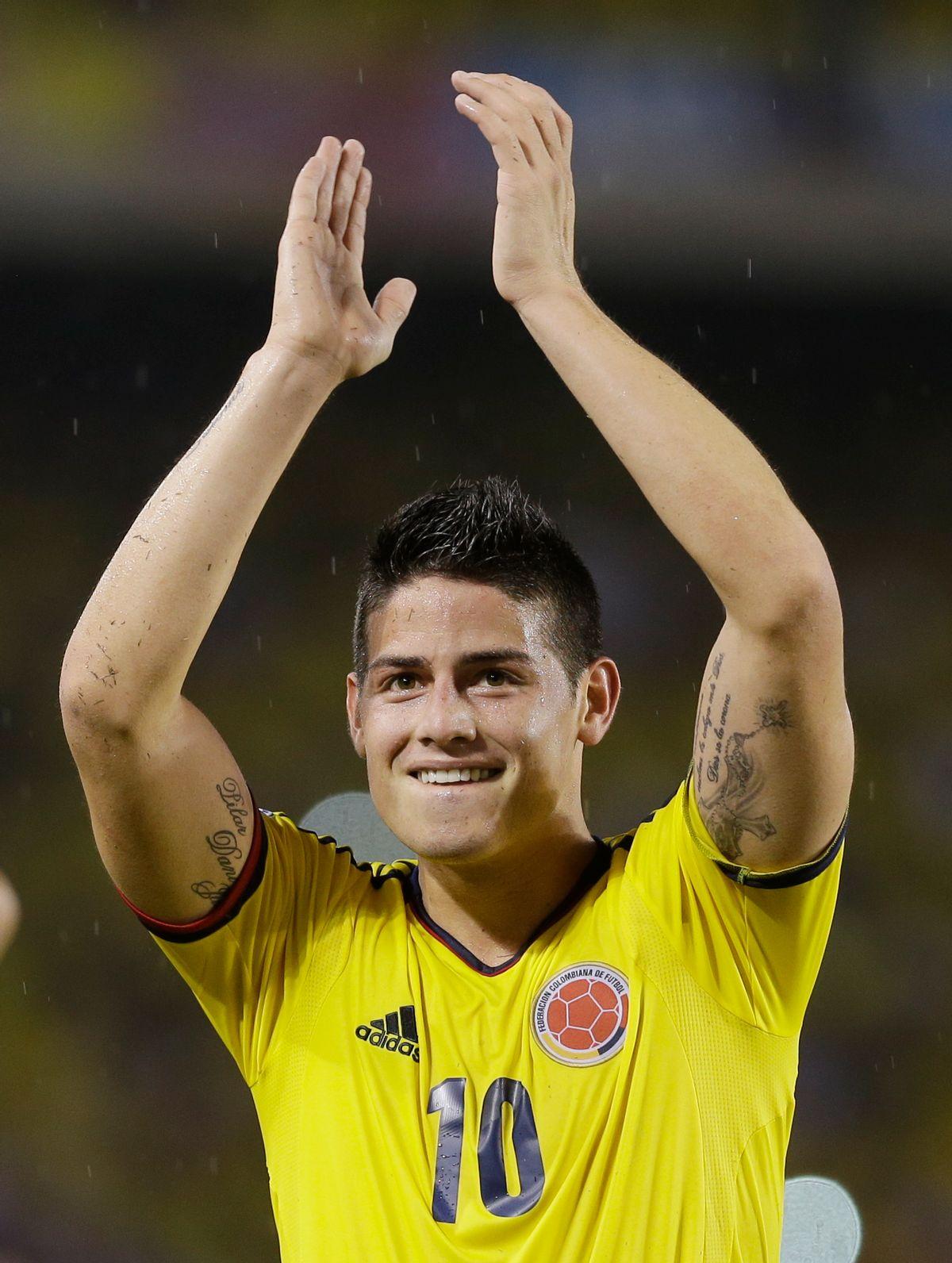Colombia's James Rodriguez (AP/Ricardo Mazalan)