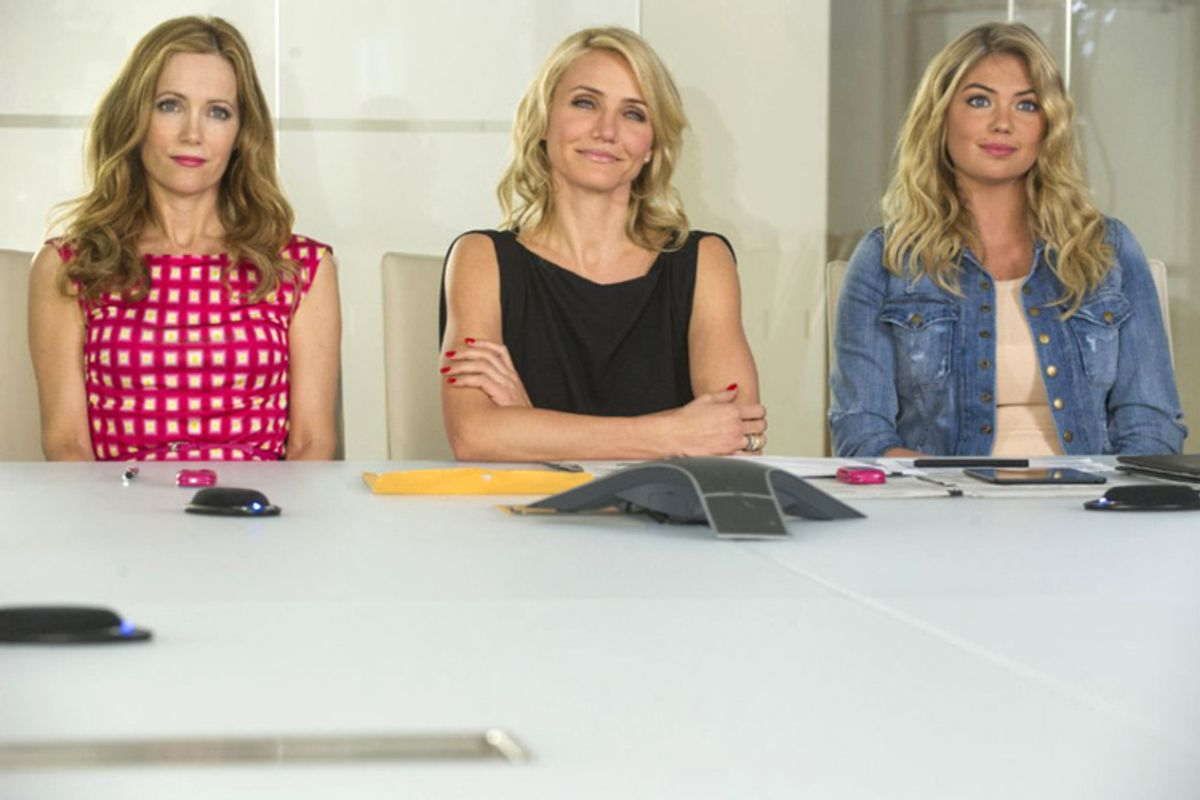 """Cameron Diaz, Leslie Mann and Kate Upton in """"The Other Woman""""       (Twentieth Century Fox/Barry Wetcher)"""