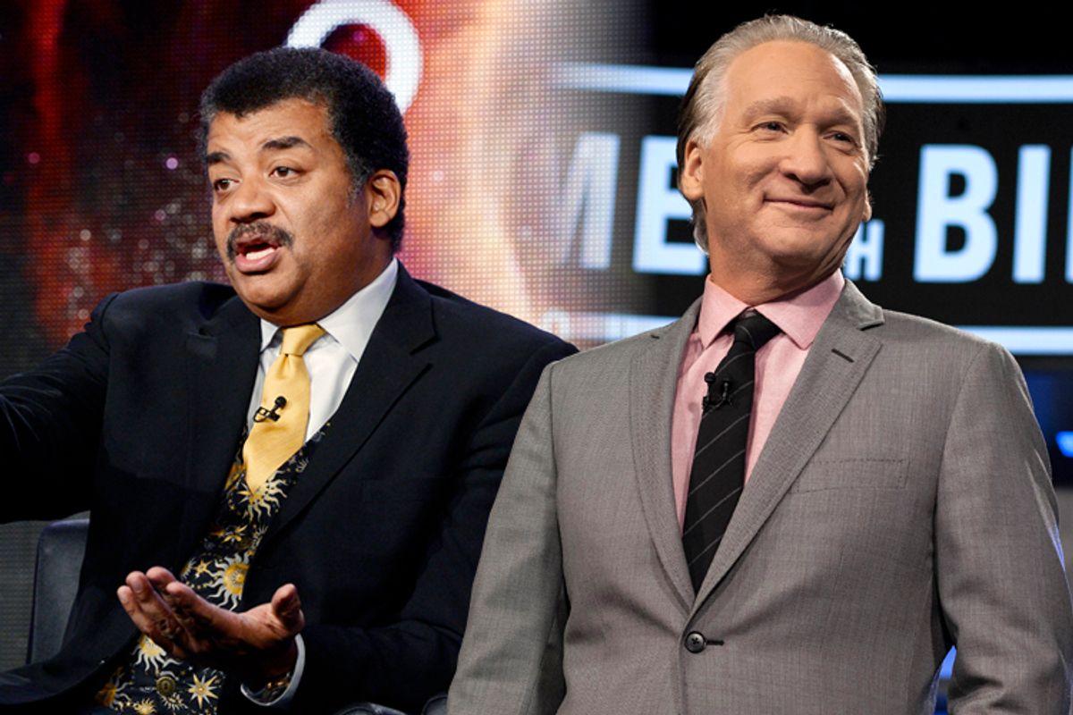 Neil deGrasse Tyson, Bill Maher            (Reuters/Kevork Djansezian/AP/Janet Van Ham/Salon)