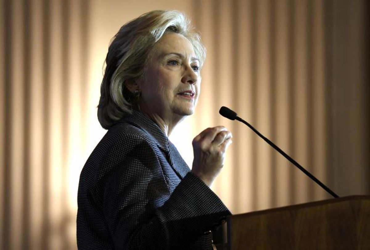 Hillary Rodham Clinton  (AP Photo/Susan Walsh)