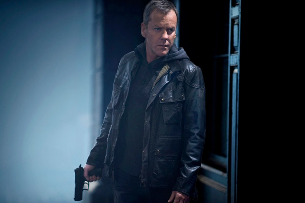 """Kiefer Sutherland as Jack Bauer in """"24: Live Another Day""""       (FOX/Greg Williams)"""