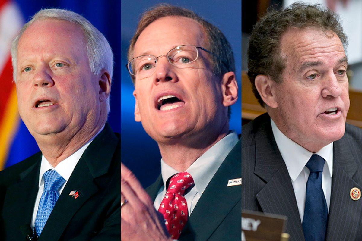Paul Broun, Jack Kingston, Phil Gingrey      (AP/John Bazemore/J. Scott Applewhite)