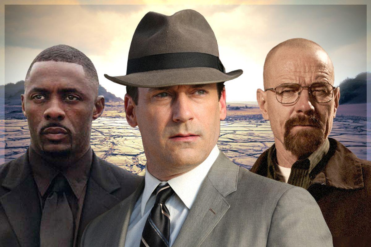 Idris Elba, Jon Hamm, Bryan Cranston        (HBO/AMC/<a href='http://www.shutterstock.com/gallery-62698p1.html'>Galyna Andrushko</a> via <a href='http://www.shutterstock.com/'>Shutterstock</a>/Salon)