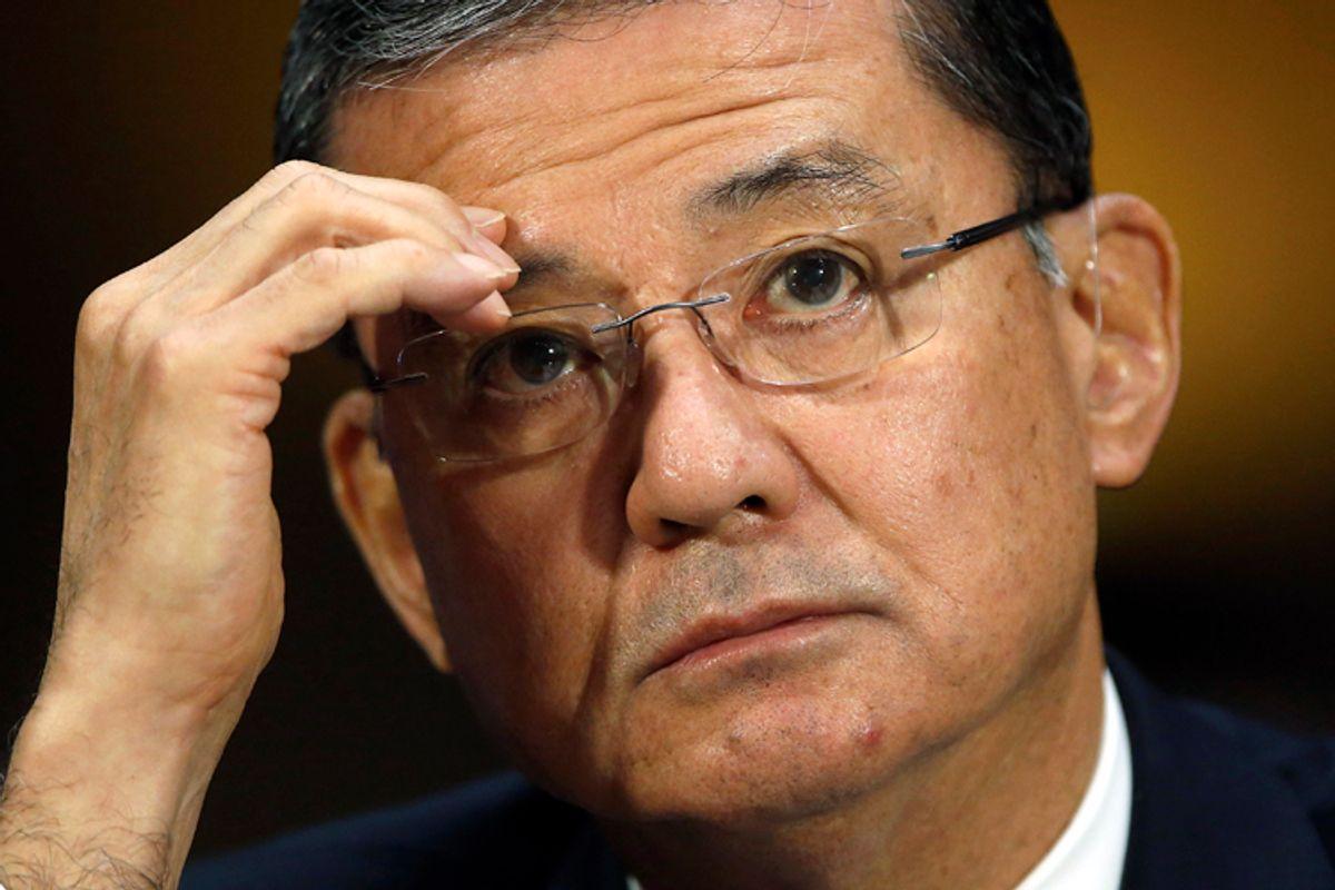 Eric Shinseki    (Reuters/Jonathan Ernst)
