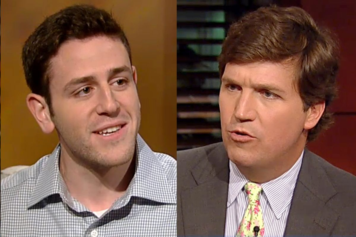 Tal Fortgang, Tucker Carlson      (Fox News)