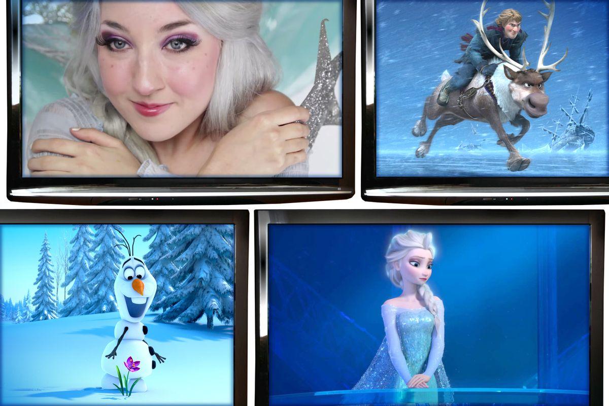 (Disney/Youtube/Steamfaerie/Salon)