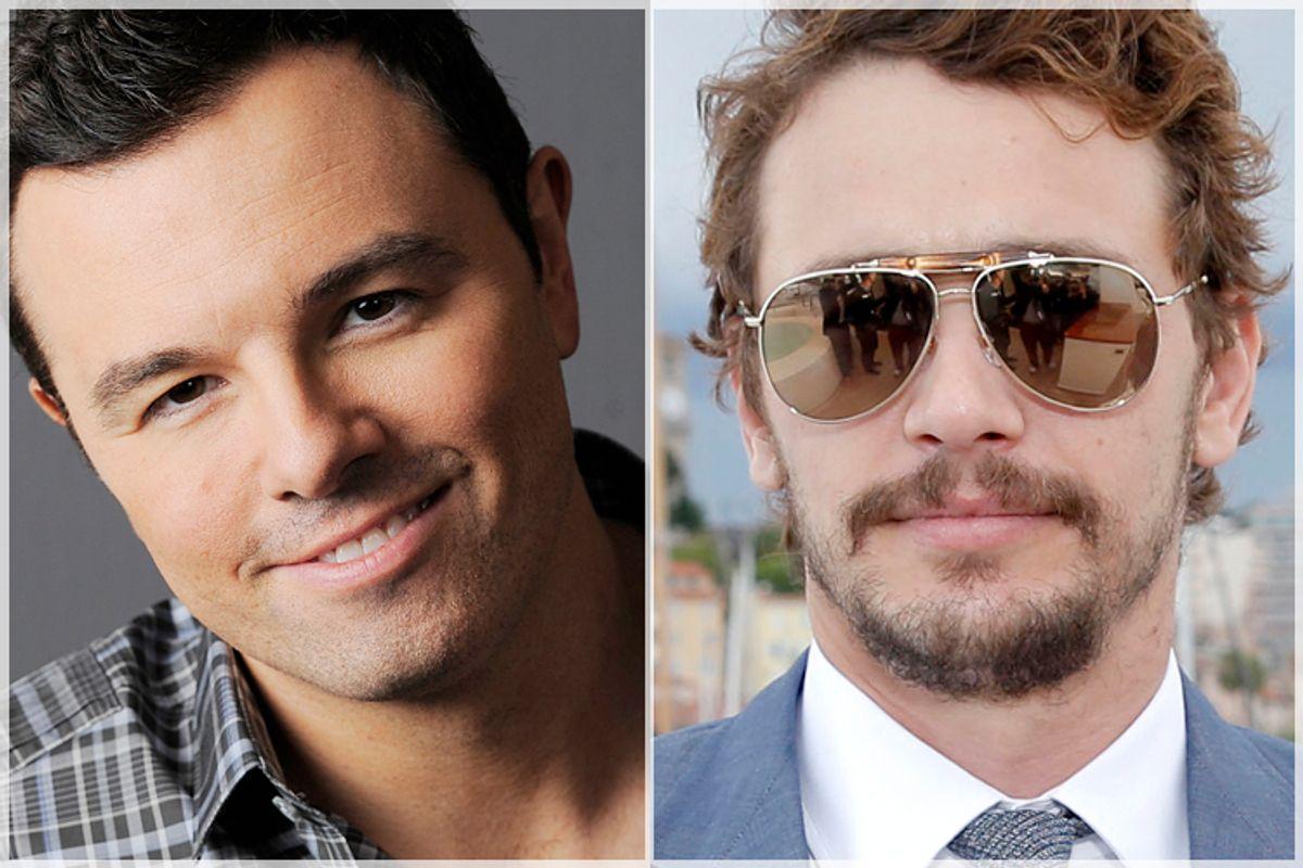 Seth MacFarlane, James Franco       (AP/Chris Pizzello/Todd Williamson)