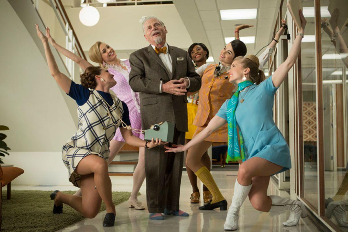 """Robert Morse as Bertram Cooper in """"Mad Men""""             (AMC/Justina Mintz)"""