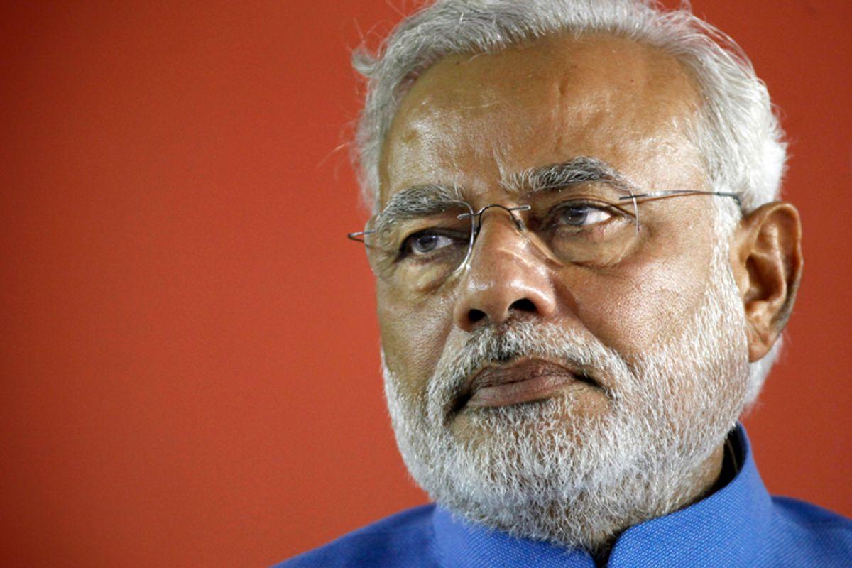 Narendra Modi         (AP/Altaf Qadri)