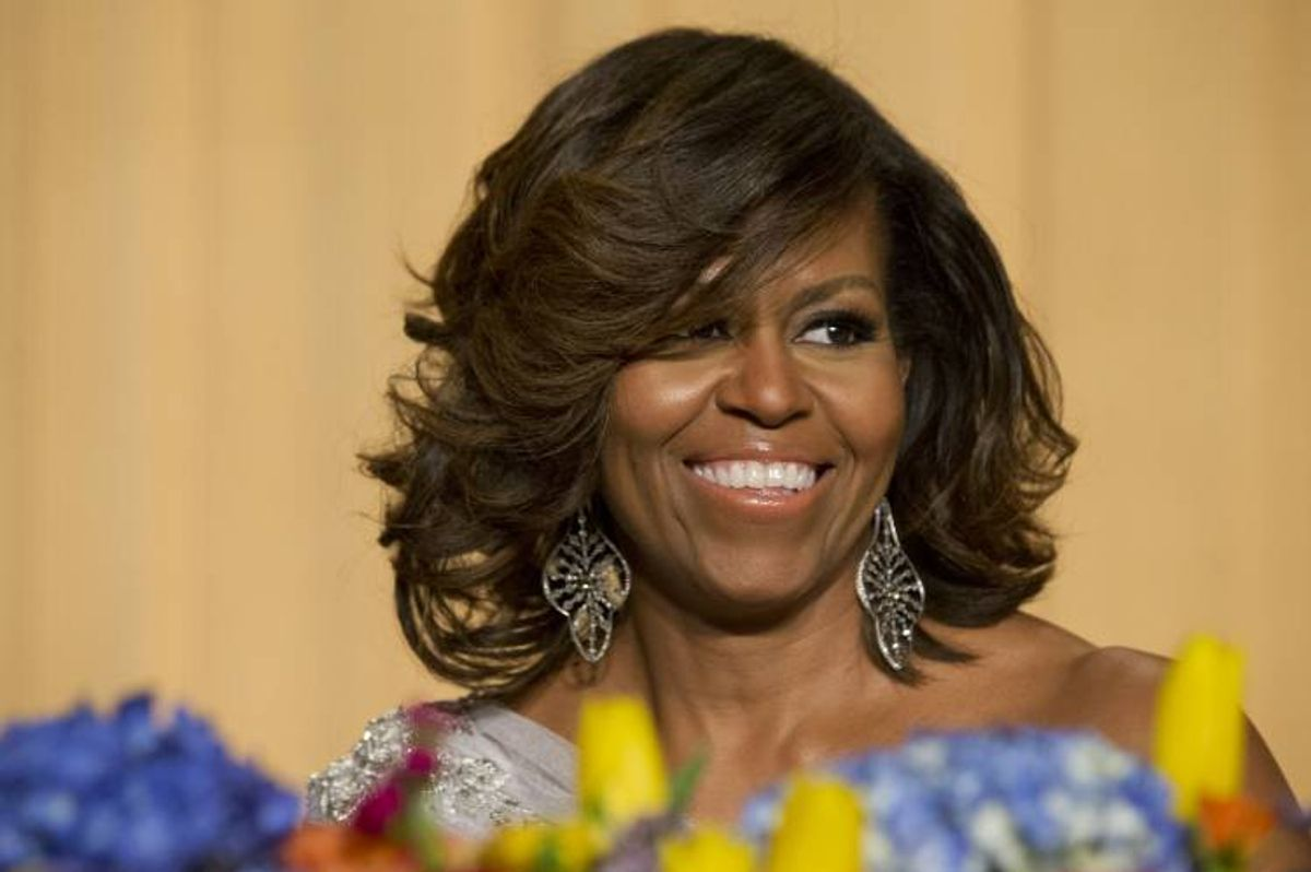 First lady Michelle Obama  (AP Photo/Jacquelyn Martin)