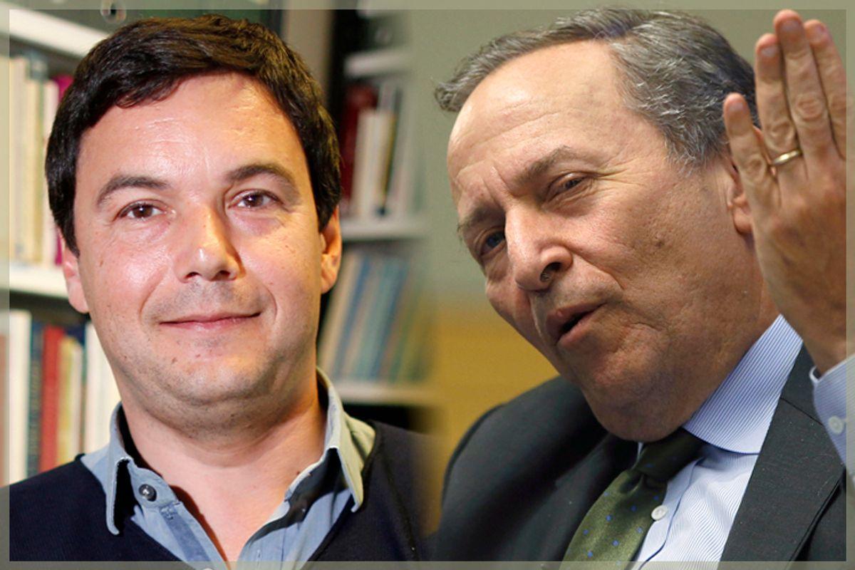Thomas Piketty, Larry Summers       (Reuters/Charles Platiau/Jonathan Ernst/Salon)