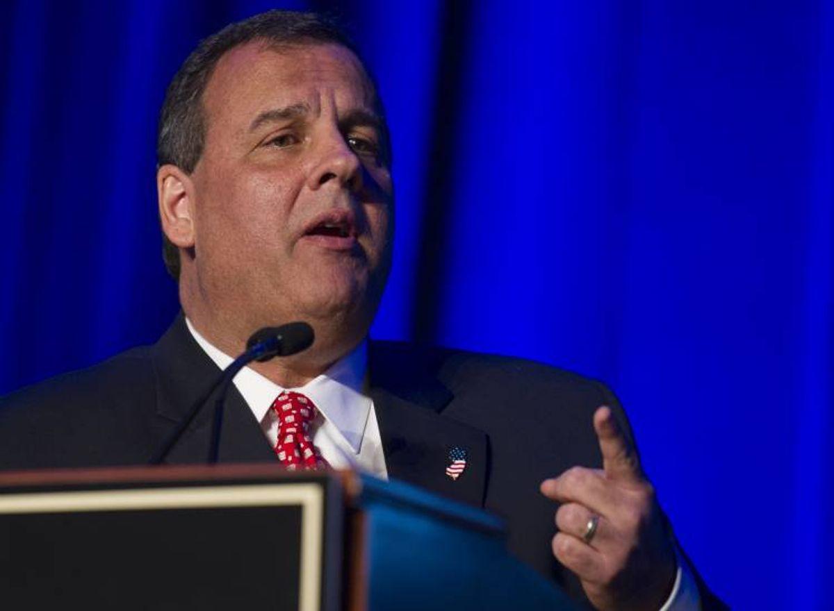 New Jersey Gov. Chris Christie     (AP Photo/Cliff Owen)