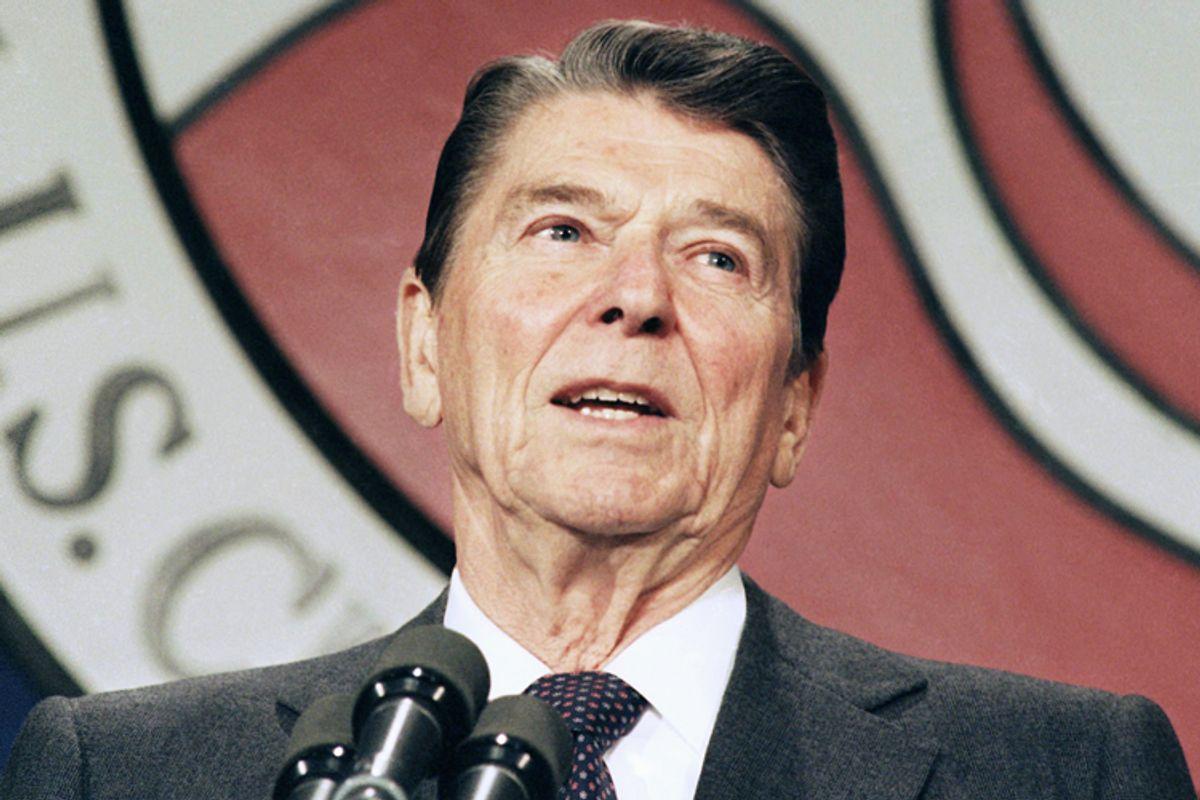 Ronald Reagan           (AP/Barry Thumma)