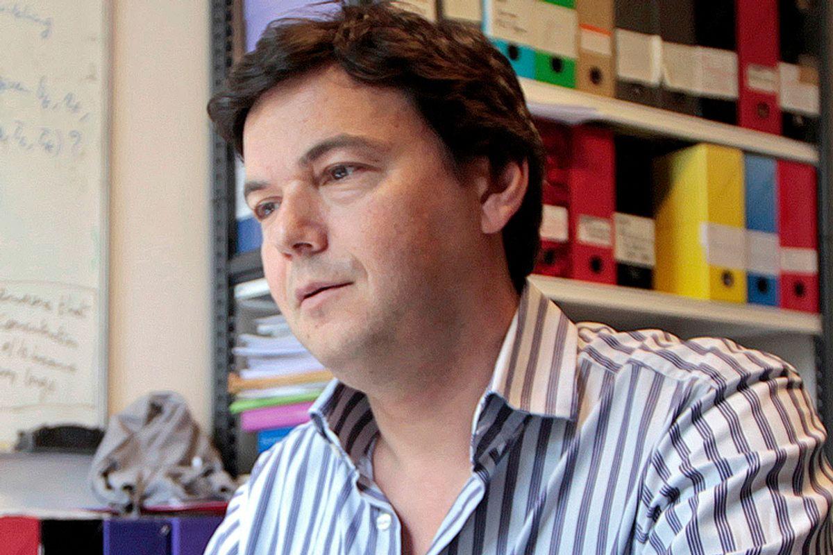 Thomas Piketty                  (Reuters/Charles Platiau)