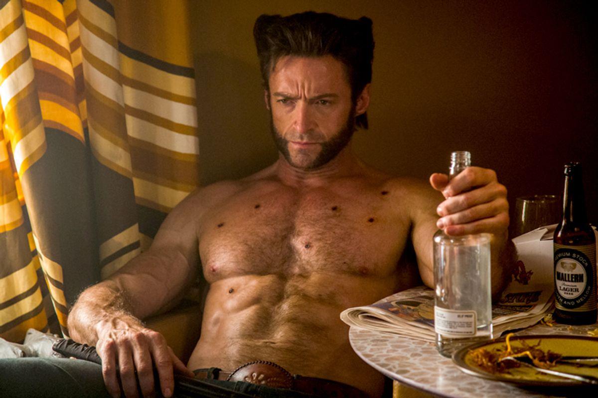 "Hugh Jackman in ""X-Men: Days of Future Past"""