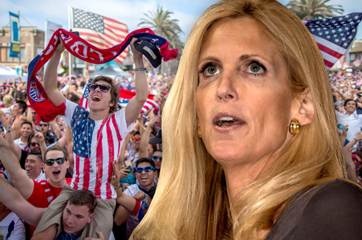 Ann Coulter                       (Jeff Malet, maletphoto.com/Reuters/Lucy Nicholson)
