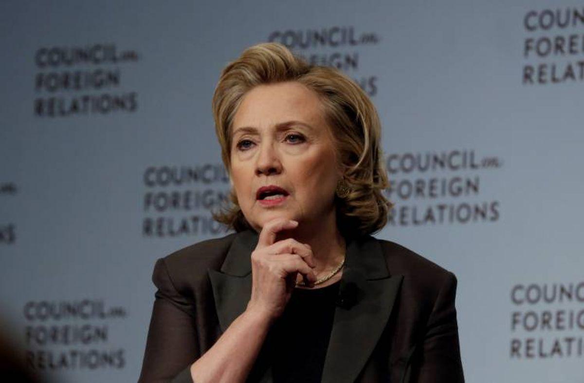 Hillary Clinton  (AP Photo/Richard Drew)