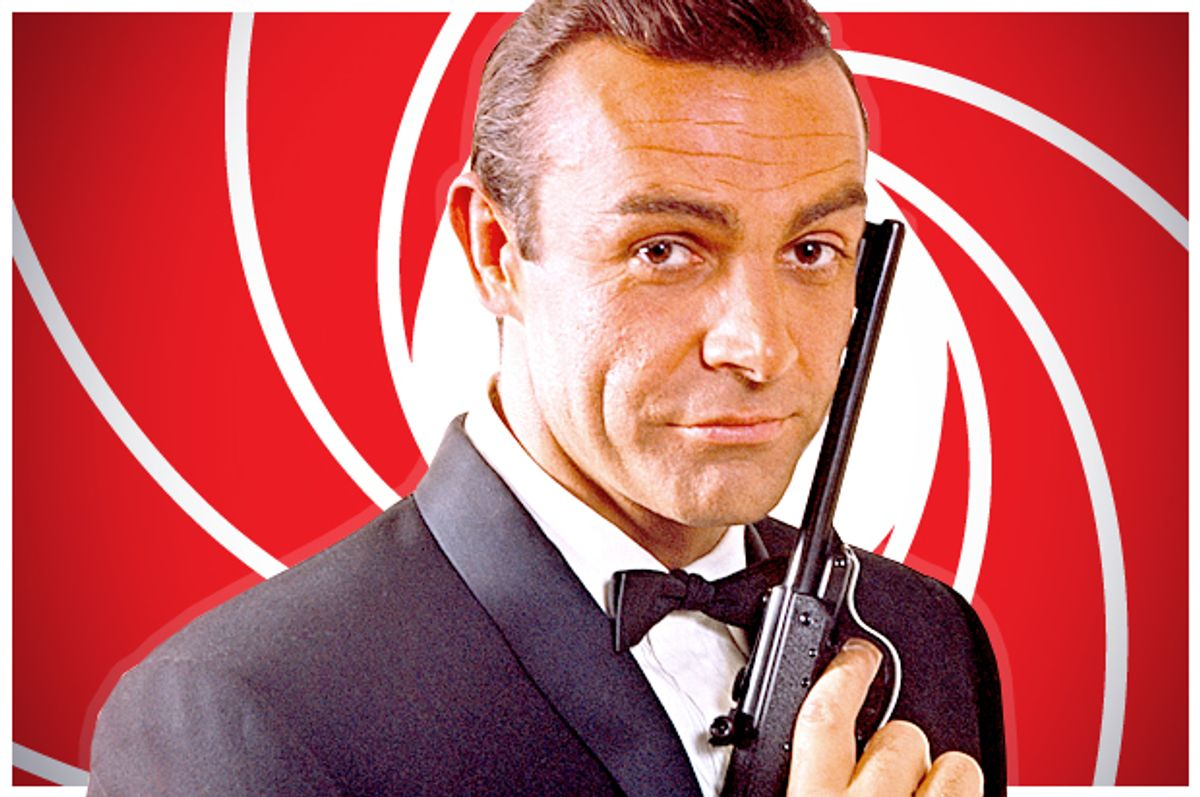 Sean Connery as James Bond   (Metro-Goldwyn-Mayer Studios)