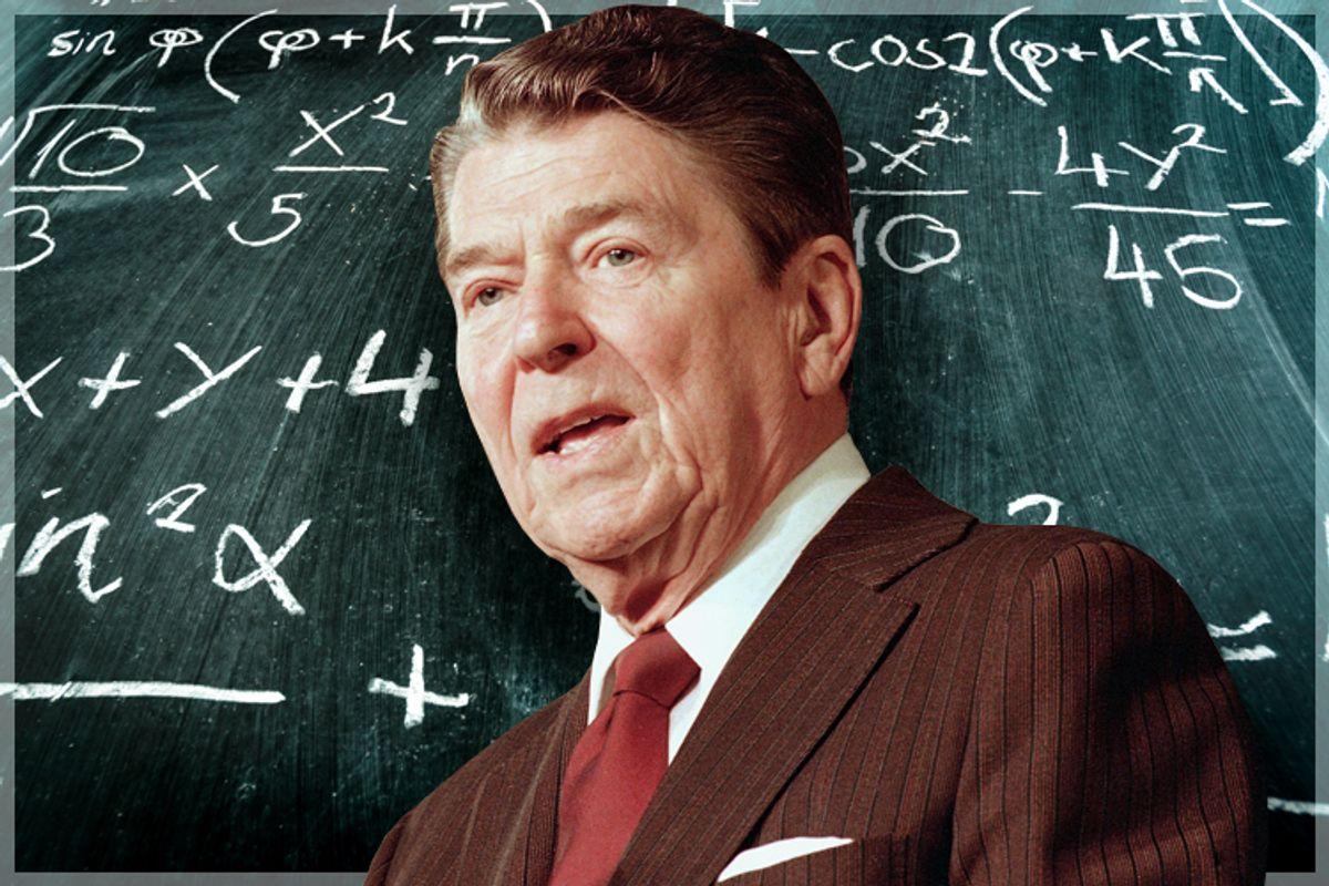 Ronald Reagan            (AP/Doug Mills/<a href='http://www.shutterstock.com/gallery-557311p1.html'>Oliver Sved</a> via <a href='http://www.shutterstock.com/'>Shutterstock</a>/Salon)