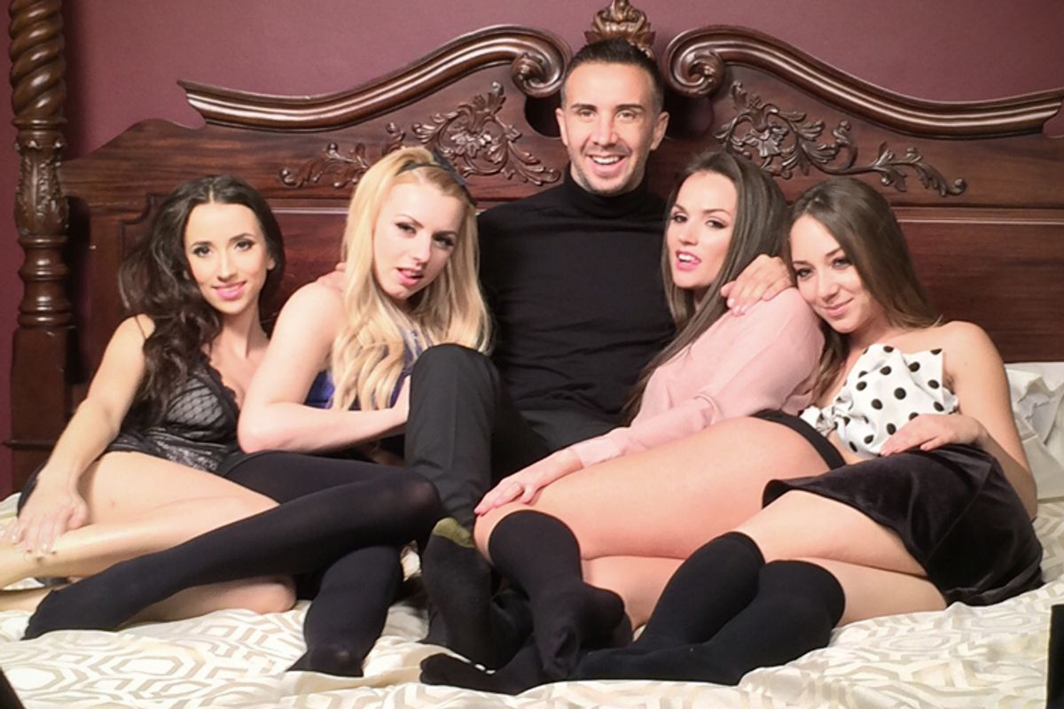Meet the mystery man behind a new reality-TV porn show