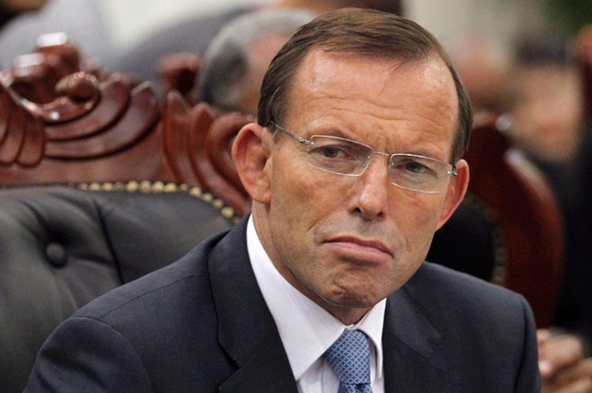 Tony Abbott           (Reuters/Dinuka Liyanawatte)
