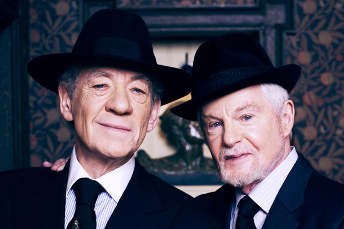 """Derek Jacobi and Ian McKellen in """"Vicious"""""""