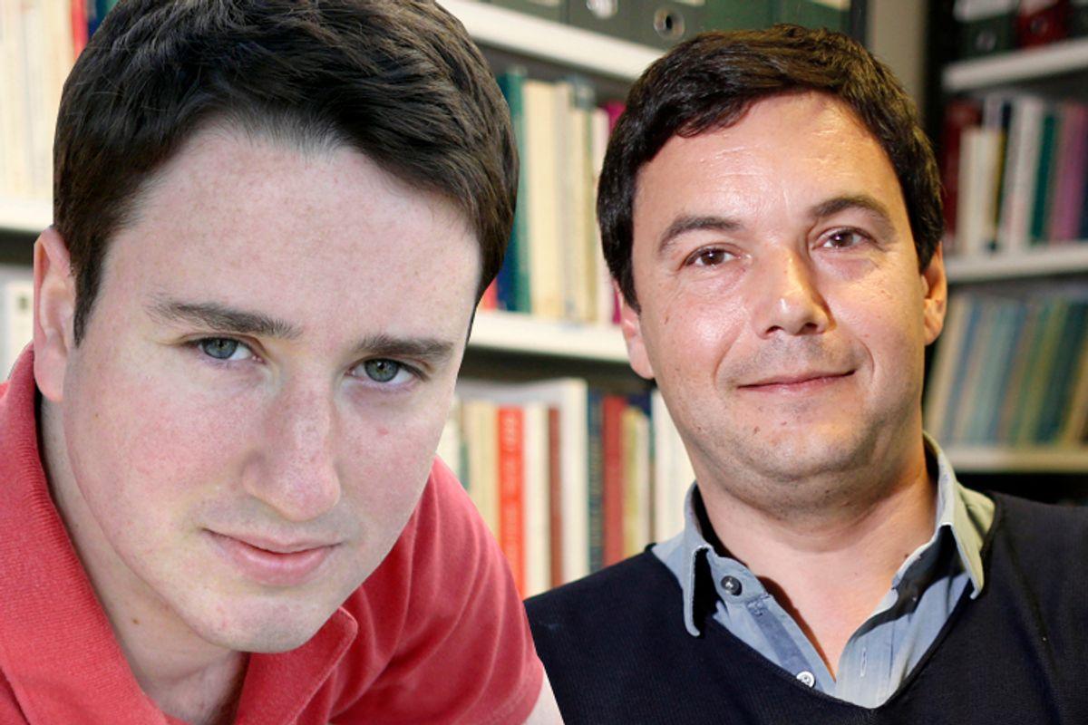 Gabriel Zucman, Thomas Piketty    (Reuters/Charles Platiau/Photo collage by Salon)