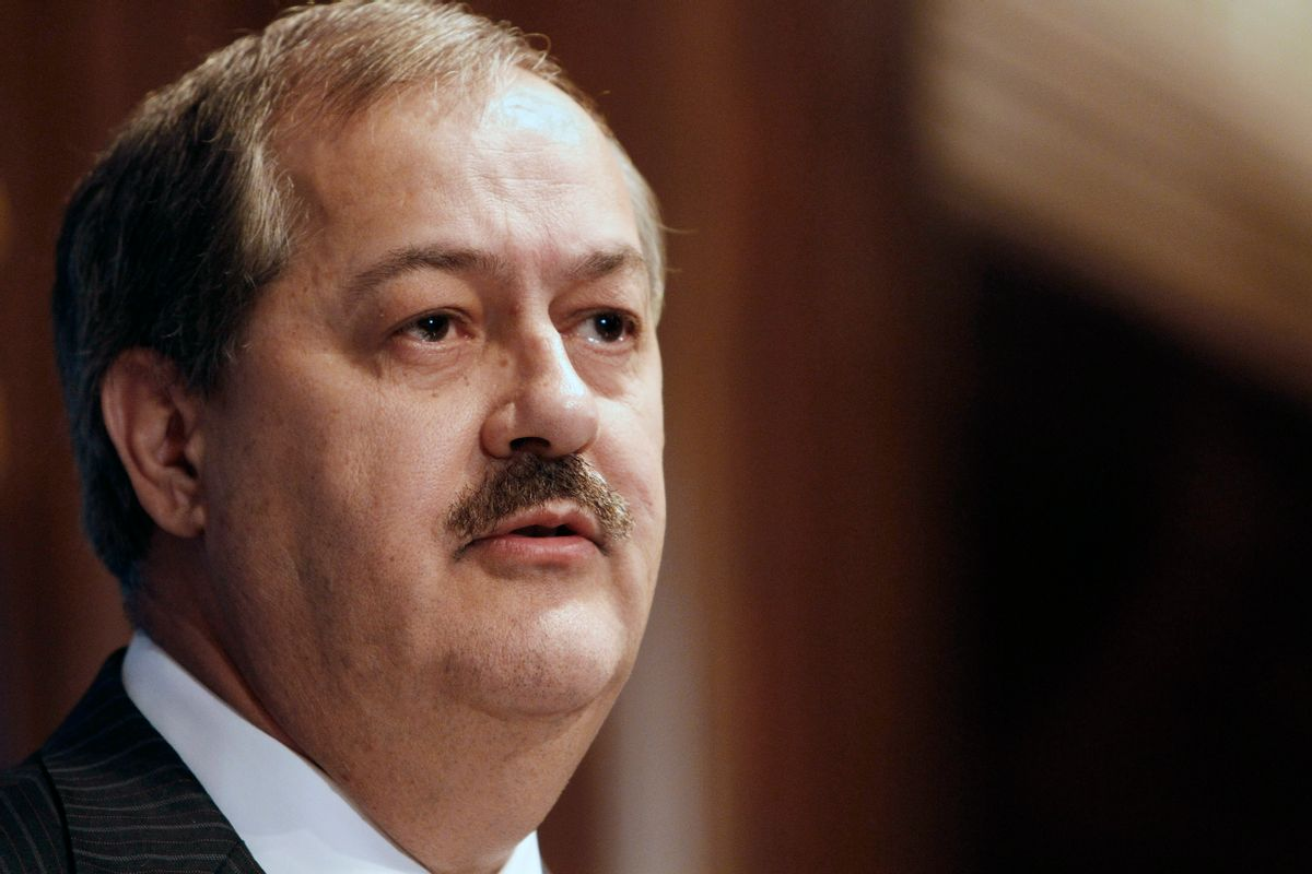 Former Chairman and Chief Executive Officer of Massey Energy Company Don Blankenship      (AP/Jacquelyn Martin)