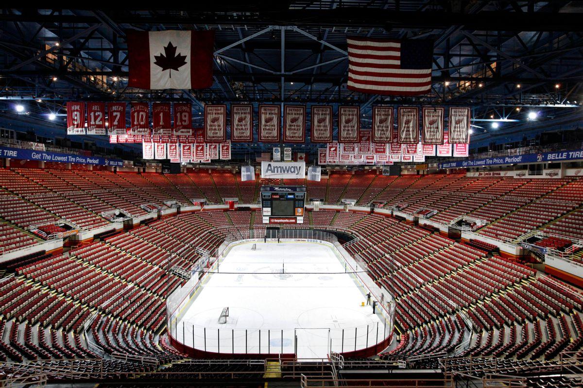Joe Louis Arena in Detroit    (AP/Paul Sancya)