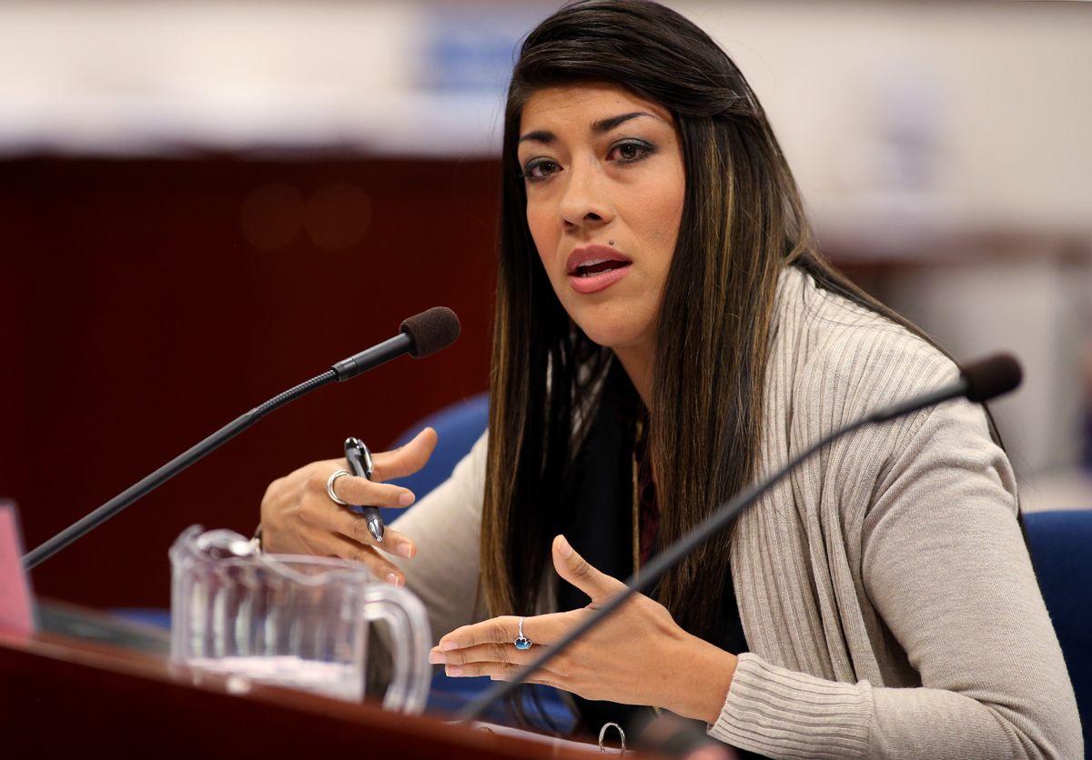 Nevada Assemblywoman Lucy Flores, D-Las Vegas    (AP)