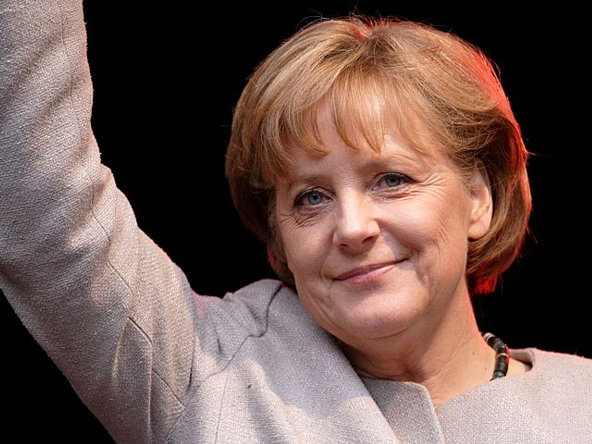 Angela Merkel, chancellor of Germany, a country with highly effective gender quotas      (א (Aleph) via Creative Commons License/Wikimedia Commons)