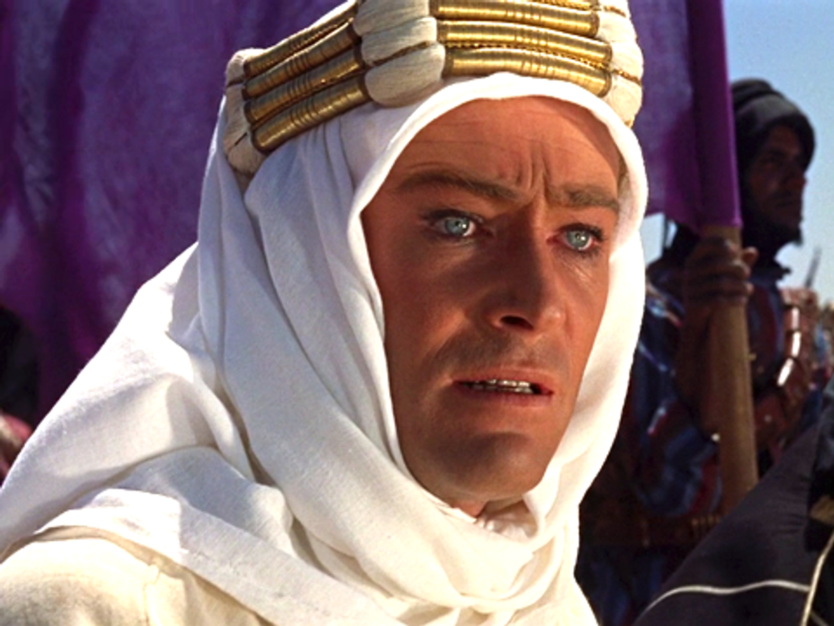 "Scene still from ""Lawrence of Arabia"""