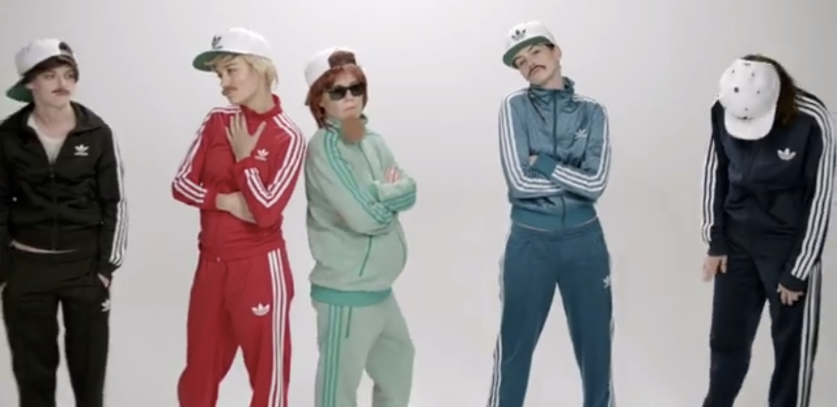 """Still from Jenny Lewis's video for """"Just One of the Guys""""   (screenshot)"""