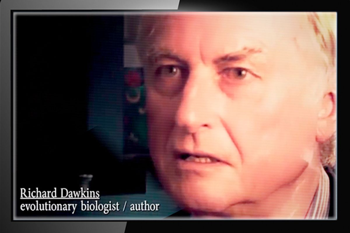 Richard Dawkins in a promo for Atheist TV     (YouTube/American Atheists)