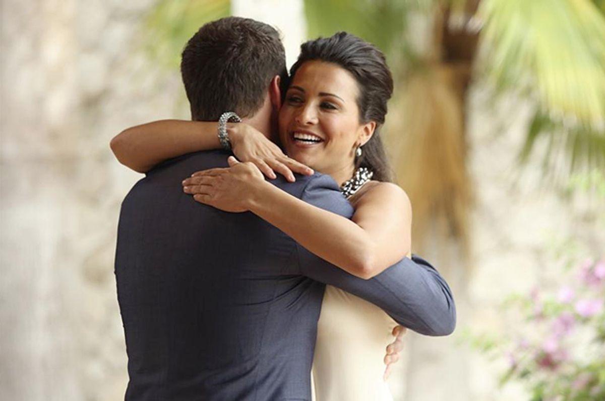 "Andi Dorfman and Chris Harrison in ""The Bachelorette""     (ABC/Javier Pesquera)"