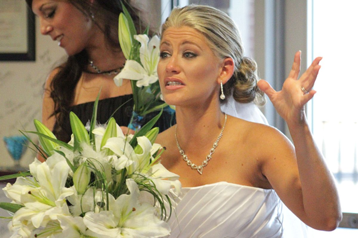 "Amanda on ""Bridezillas""    (WE tv)"
