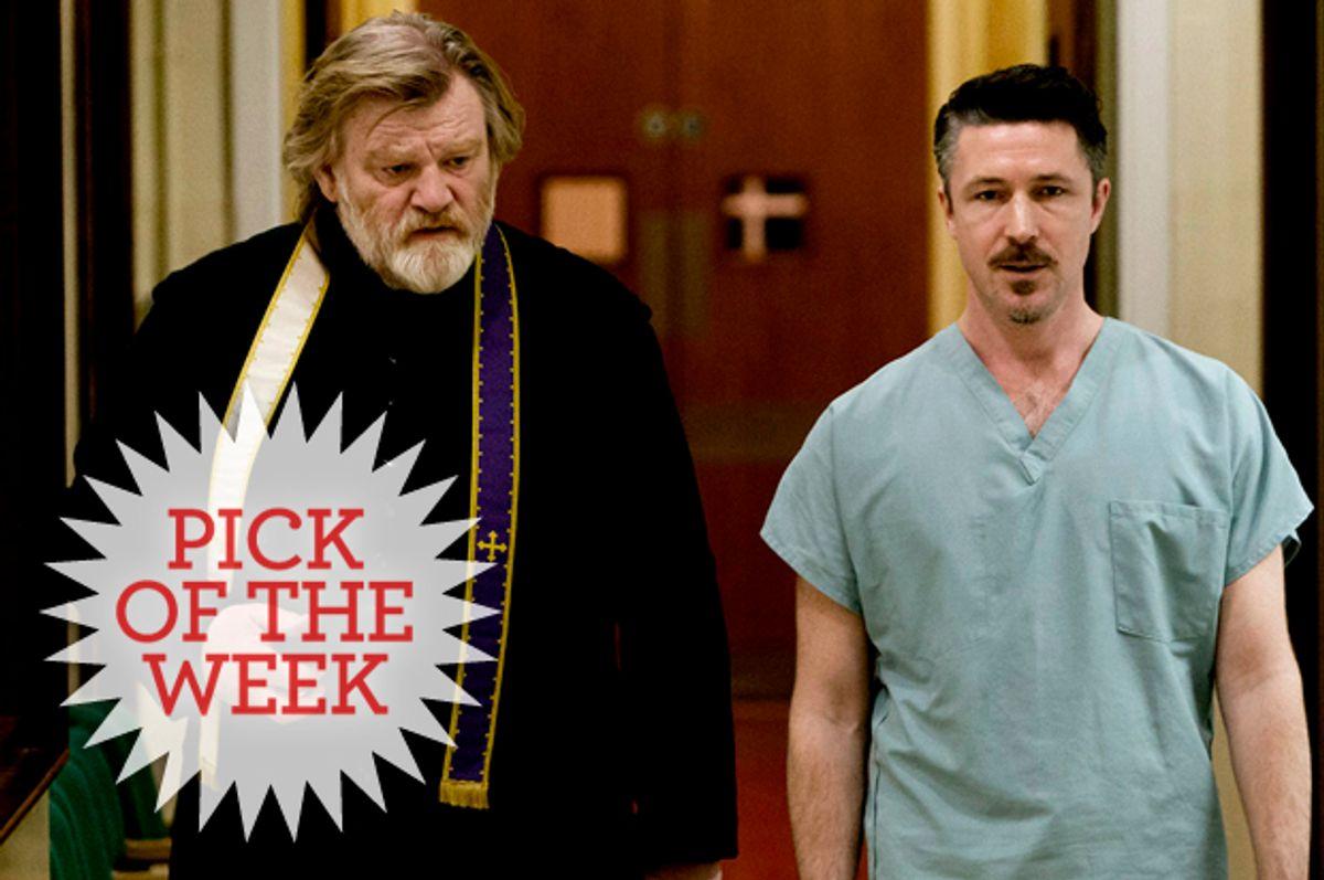 "Brendan Gleeson and Aidan Gillen in ""Calvary""         (Fox Searchlight)"